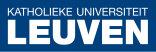 Один из старейших университетов Бельгии — Katholieke Universiteit Leuven принимает заявки на прохождение магистратуры на факультете естественных наук.